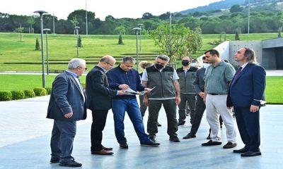 Vali Yerlikaya, Marmara Üniversitesi Recep Tayyip Erdoğan Külliyesi'nde İncelemelerde Bulundu
