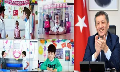 """ZİYA ÖĞRETMEN, ELAZIĞ ARICAKLI ÖĞRENCİLERİN """"OKUMA"""" COŞKUSUNA ORTAK OLDU"""