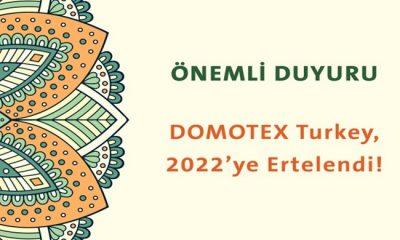 DOMOTEX Turkey 2022'de Düzenlenecek