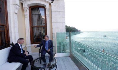 Millî Savunma Bakanı Hulusi Akar, İtalya Savunma Bakanı Lorenzo Guerini ile Görüştü