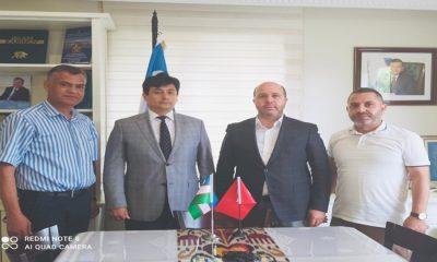 TUSAD Başkanı Hasan Bayram, Özbekistan İstanbul Başkonsolosunu ziyaret etti