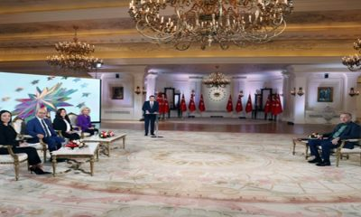 Cumhurbaşkanı Erdoğan, A Haber-ATV özel yayınına katıldı
