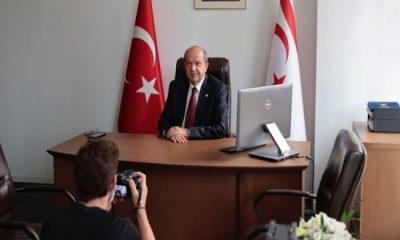 """New York'ta bulunan Cumhurbaşkanı Ersin Tatar, France 24'e konuştu: """"ANLAŞMA İKİ AYRI DEVLET TEMELİNDE OLABİLİR"""""""