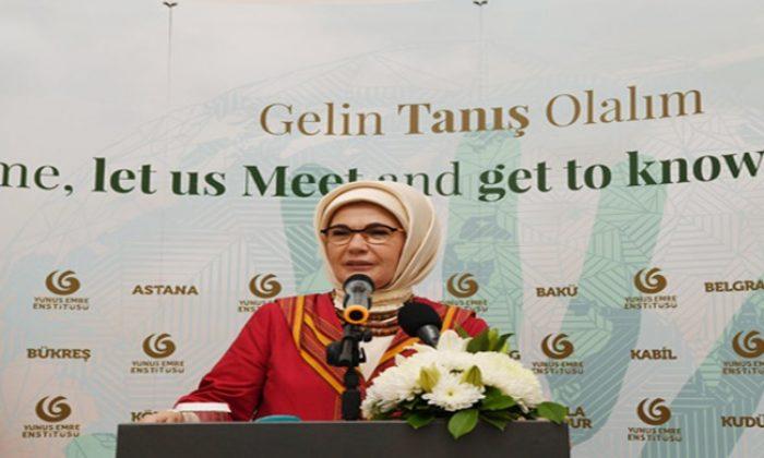 Emine Erdoğan, Nijerya'da Abuja Yunus Emre Kültür Merkezi'nin açılışına katıldı