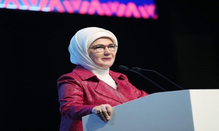 """Emine Erdoğan """"Türkiye-Afrika Kadın Liderlik Diyaloğu Paneli""""ne katıldı"""