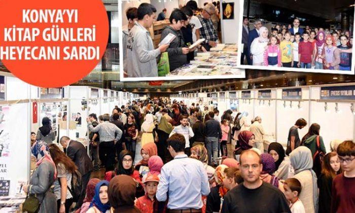 Konya'yı Kitap Günleri Heyecanı Sardı