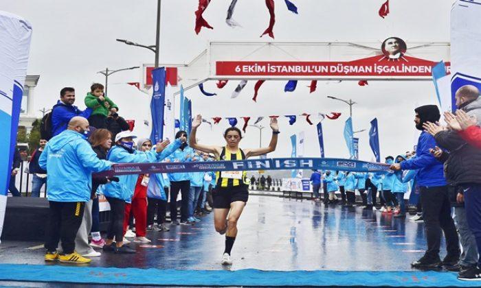 N Kolay 43. İstanbul Maratonu öncesi son provayı Üsküdar'da gerçekleştirdi