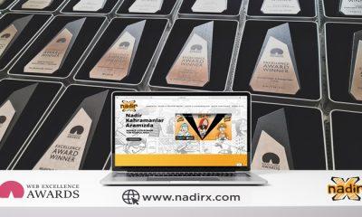 Nadir-X projesine 'Web Excellence Awards'tan 'mükemmellik' ödülü!
