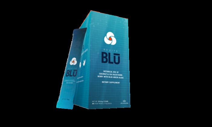Revita Blu, canlılığınızı maksimum seviyede tutmaya destek olmak için tasarlandı